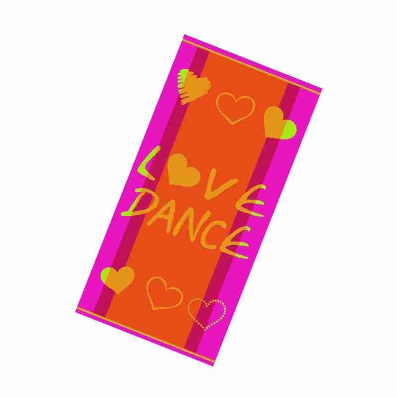 Rumpf Love Dance Handdoek