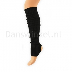 Alista Dancer Basics beenwarmer medium Zwart