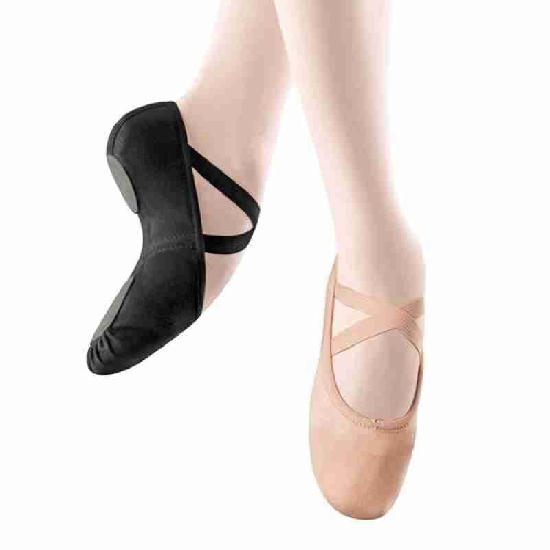 Alista Balletschoenen Stretch Canvas met vastgemaakte elastiek