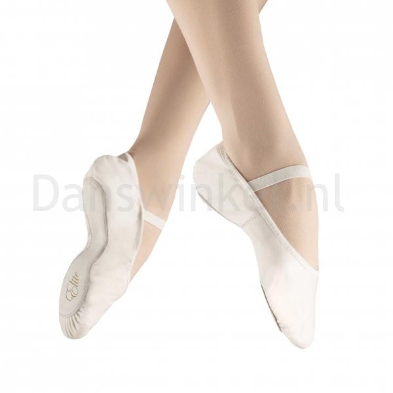 Alista Elite Balletschoenen van leer wit