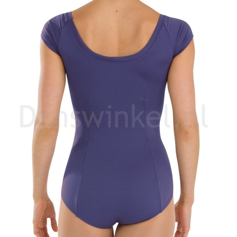 Capezio balletpakje met korte mouwen achterkant