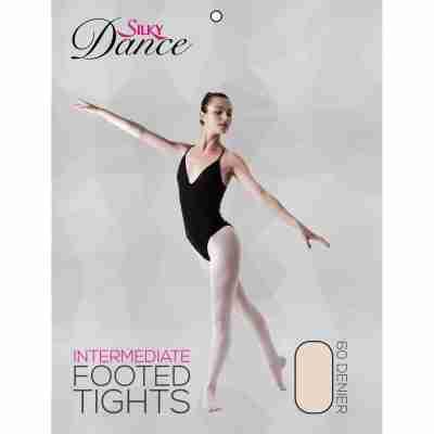 Silky Dance Balletpanty met voet Kinderen voor meisjes