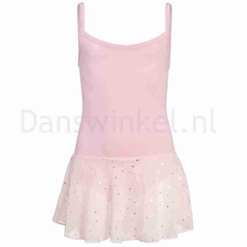Papillon 12PK4051 roze balletpakje met glitter rokje