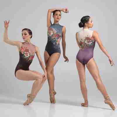 Ballet Rosa Romane Mouwloos Balletpak Voorbeeld