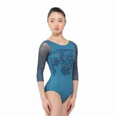 Ballet Rosa Rosella Dames Balletpak Blauw Voorkant