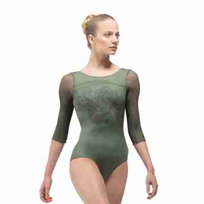 Ballet Rosa Rosella Dames Balletpak met Driekwart Mouw en Boothals
