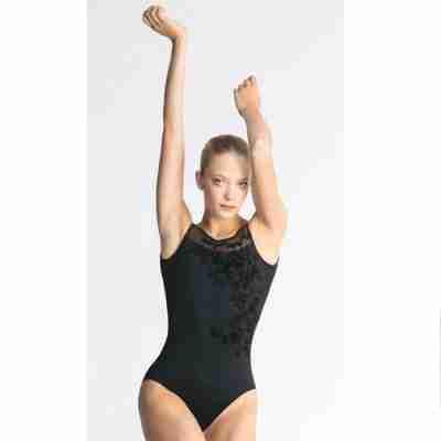 Ballet Rosa Adele Zwart Bloemenmotief