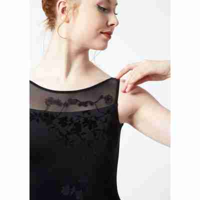 Ballet Rosa Adele Zwart Kanten Mouwen