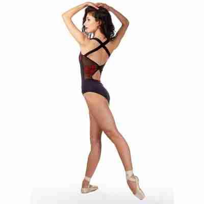 Ballet Rosa Anette Balletpak Zwart en Rood