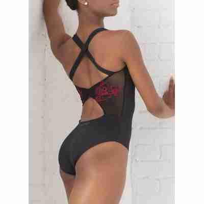 Ballet Rosa Anette Balletpak Zwart en Rood Open Rug