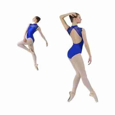 Ballet Rosa Berenice Balletpak Blauw Open Rug