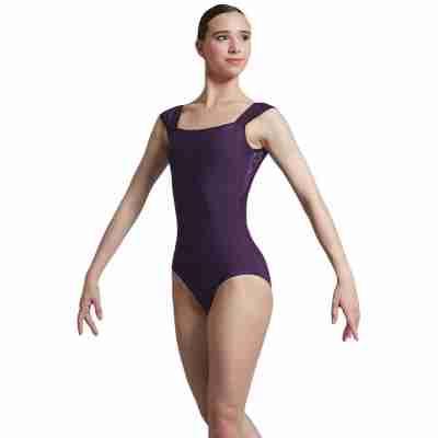 Ballet Rosa Dauphine Balletpak Paars Brede Bandjes