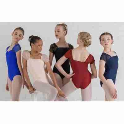 Ballet Rosa Justine Dames Balletpak Vierkant Halslijn
