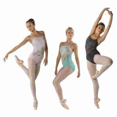 Ballet Rosa Marlise Balletpak met Spaghettibandjes voor Kinderen
