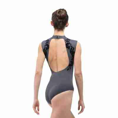 Ballet Rosa Orialie Balletpak Grijs Sluiting in Nek