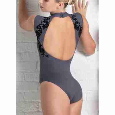 Ballet Rosa Orialie Balletpak met Hoge Halslijn en Open Rug
