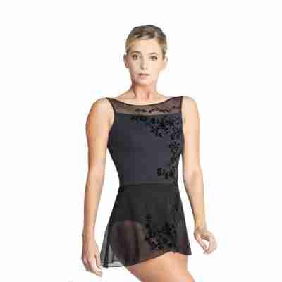 Ballet Rosa Leonie Zwart Wikkelrokje Voorkant