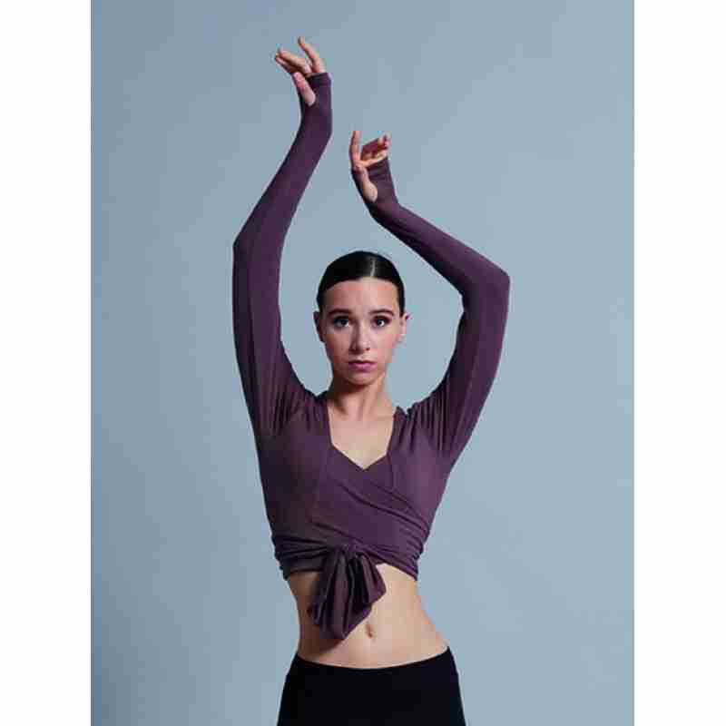 Ballet Rosa Mai Wikkelvest met V-Hals