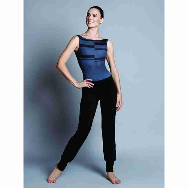 Ballet Rosa Ryoko Zwarte Soepele Dansbroek voor Dames