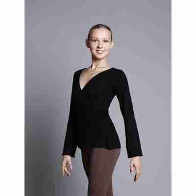 Ballet Rosa Sayaka Wikkelvest met Lange Mouwen