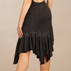 Capezio Asymmetrical Short Ruffle Skirt