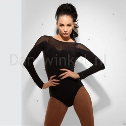 Chrisanne Leotard With Net Detail