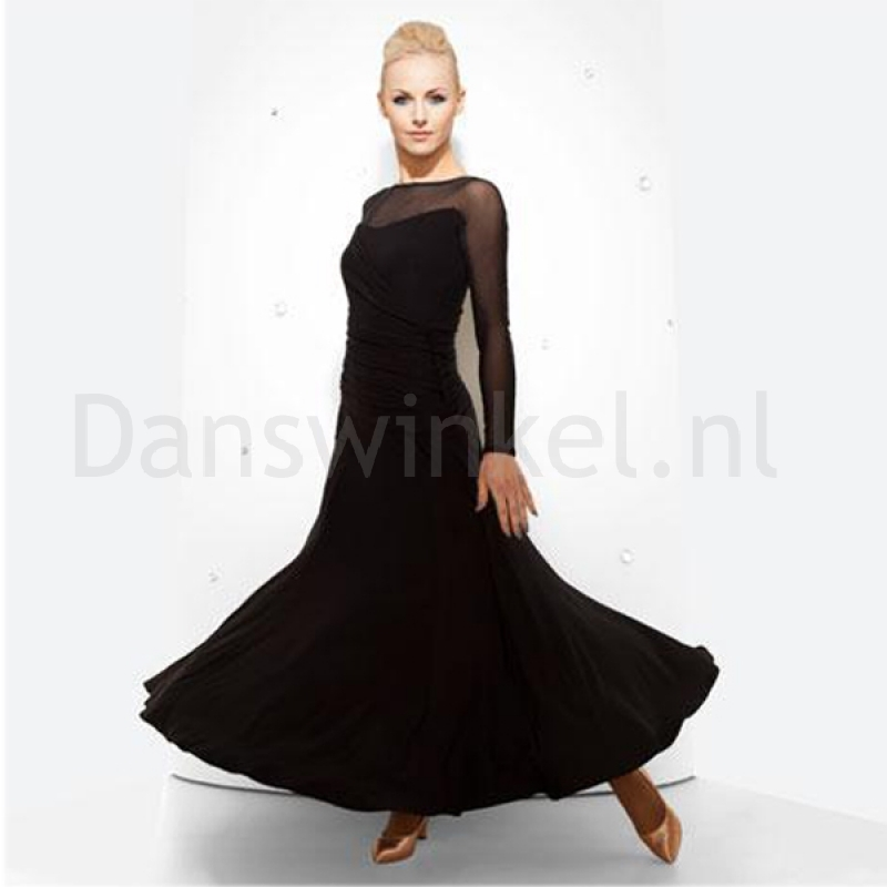 Chrisanne Rouched Ballroom Dress