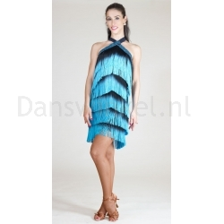 Santoria Virginiana Latin Fringe Dress DR7042