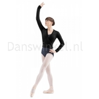 zwarte Bloch Dames Klassiek Ballet Wikkel Vest Z0910 Darlene