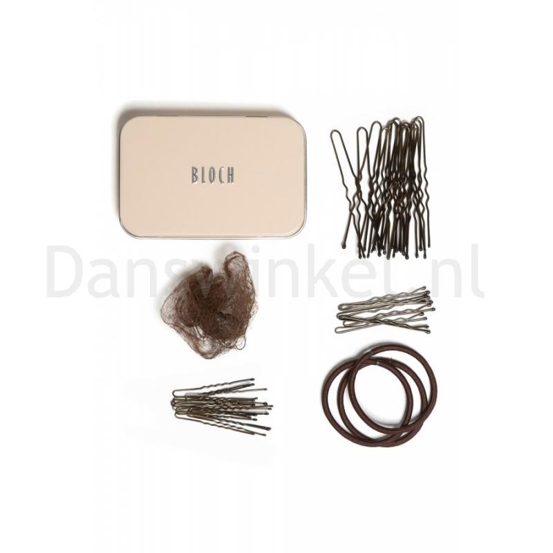 Bloch Haar Kit A0801 donker bruin