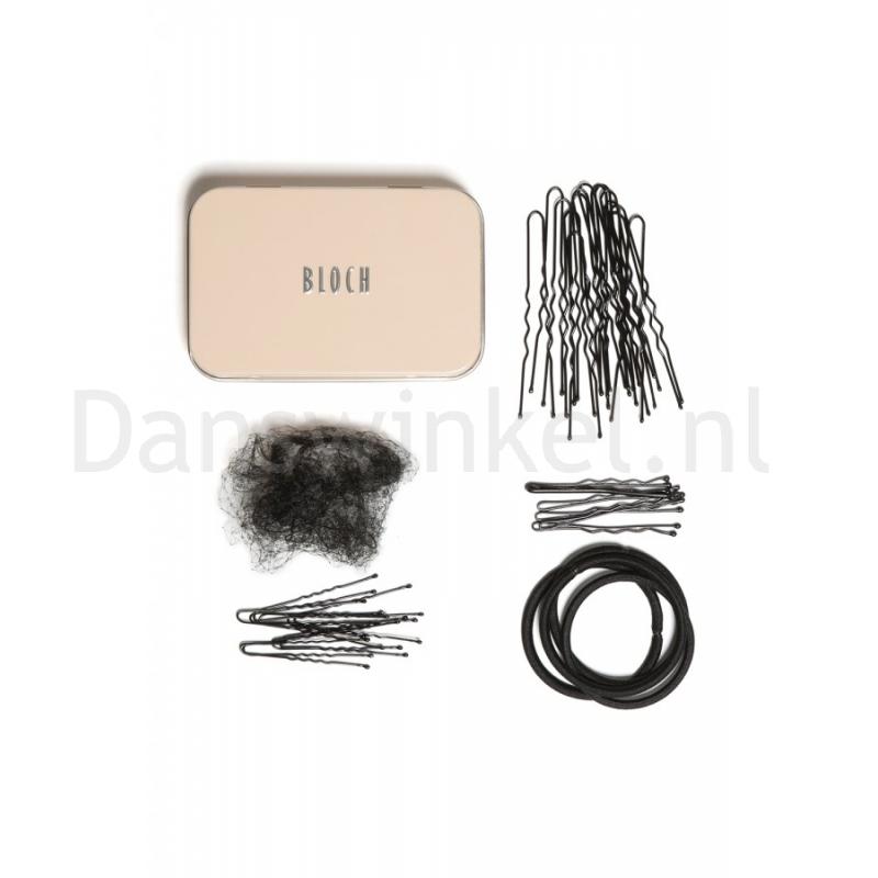 Bloch Haar Kit A0801 zwart