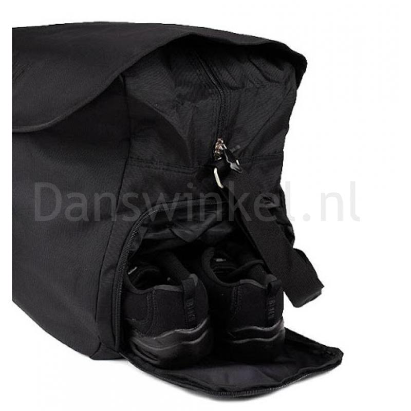 Bloch A312 zwarte ballettas met opbergvak voor balletschoenen