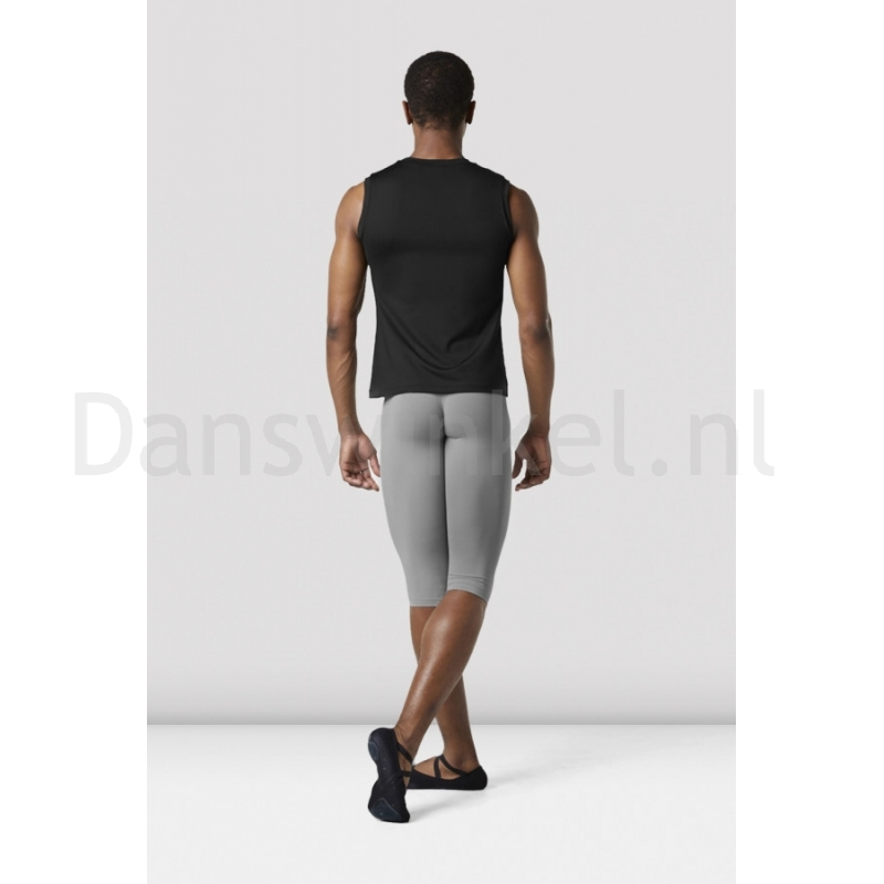 Bloch heren Fitted Muscle Top MT011 zwart