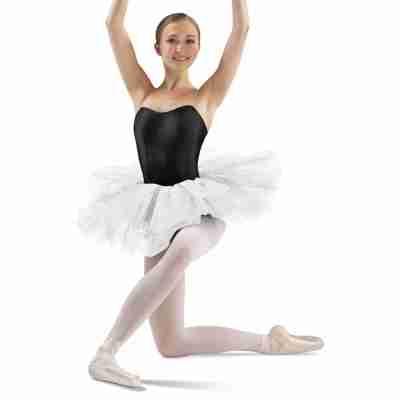 Bloch Dames Tutu BalletRokje LD138LT 12 Professional wit