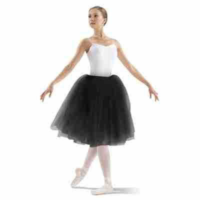 Bloch Juliet dames Ballet Tutu LD137LT zwarte tule