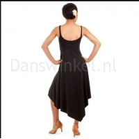 Bloch dames Ballet/DansJurk M1017 Asymmetrical Hem Tank dress