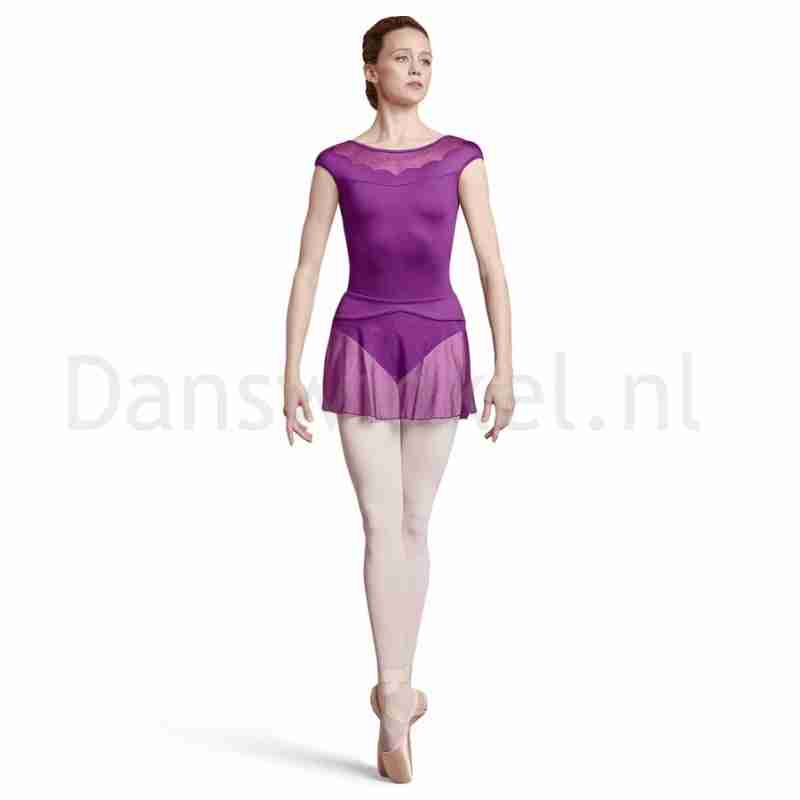 Bloch Dames BalletRok R2931 Coeus met Polkadots