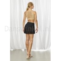 Bloch BalletRok R3521 Jaylyn Performance zwart achter
