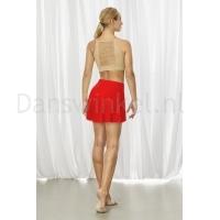 Bloch BalletRok R3521 Jaylyn Performance rood achter