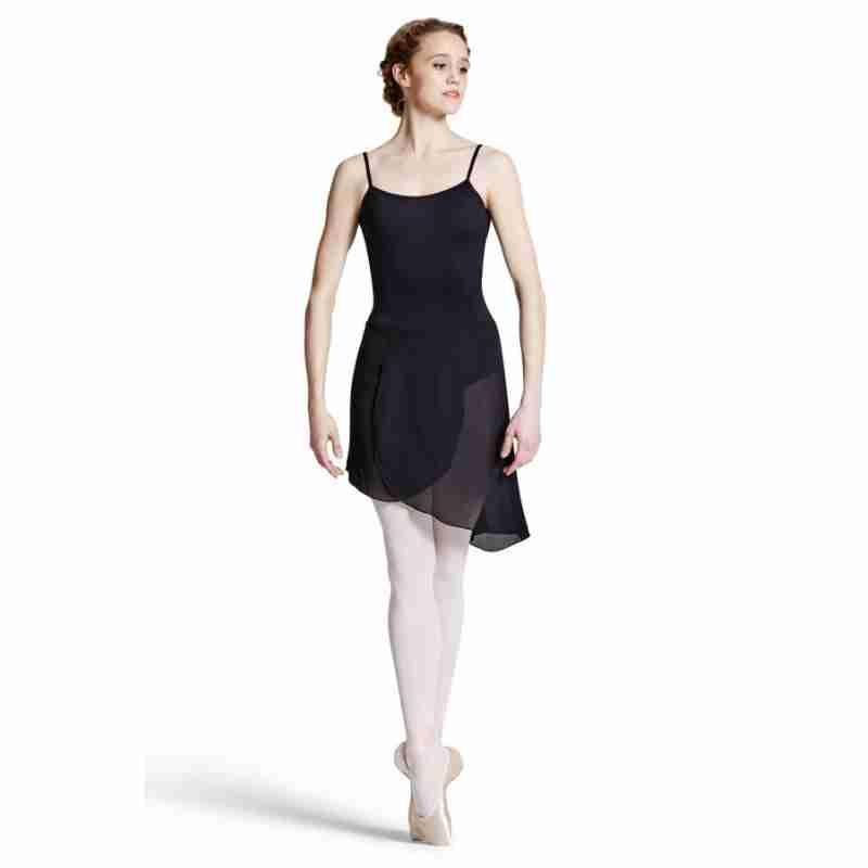 Bloch Dames Asymmetrische Ballet WikkelRok R8811 Maroney