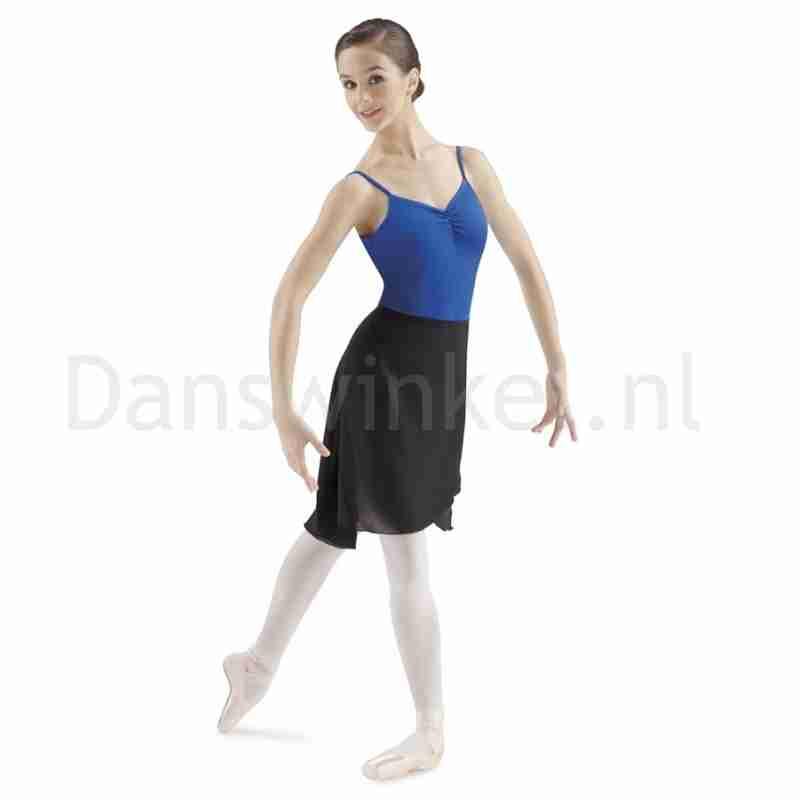 Bloch Dames Voile BalletRok MS8 knielengte zwart