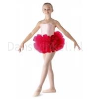 Bloch meisjes Ballet Tutu LD152CT Bando rood