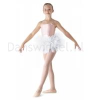Bloch meisjes Ballet Tutu LD152CT Bando wit