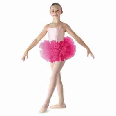 Bloch Meisjes Ballet Tutu LD152CT Bando fuchsia