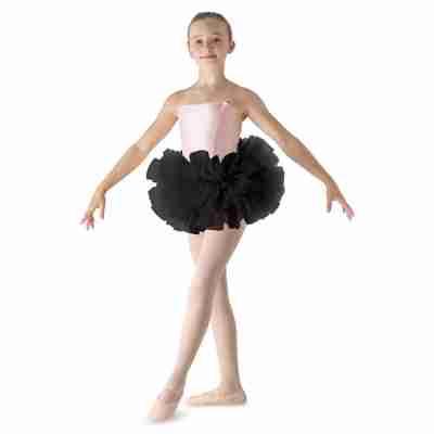 Bloch zwarte meisjes Ballet Tutu Bando LD152CT