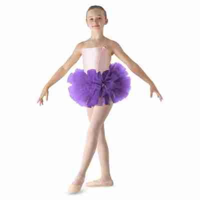 paarse Ballet Tutu voor meisjes bloch Bando LD152CT