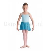 Bloch meisjes Ballet Rokje CR5110 Barre Zeeblauw