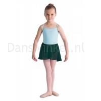 Bloch meisjes Ballet Rokje CR5110 Barre donkergroen