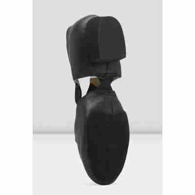 Bloch Elastosplit Griekse Sandaal Jazz schoen ES0410L zwart