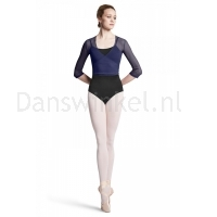 wikkel vest Bloch dames  Z2916 Embla navy ballet